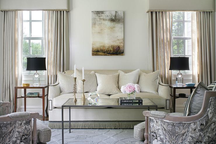 Come arredare soggiorno rettangolare